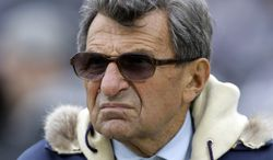 The FBI file on Joe Paterno made no mention of Jerry Sandusky, but did reveal a series of threatening letters sent to the former Penn State coach and his staff in the late 1970s and early 1980s that he believes were prompted by organized gambling. (Associated Press)