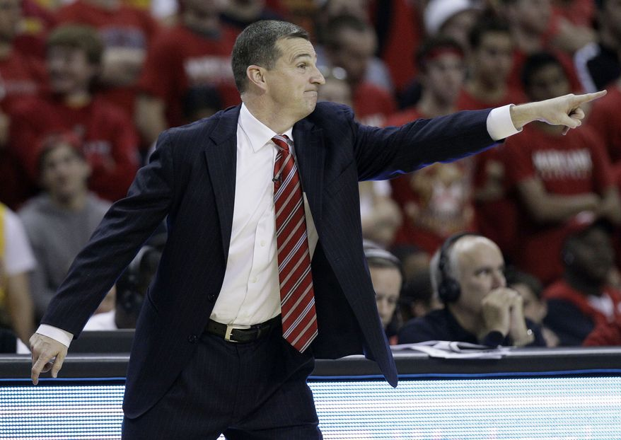 ** FILE ** Maryland head coach Mark Turgeon (AP Photo/Patrick Semansky)
