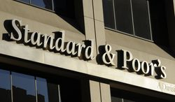 The New York headquarters of ratings agency Standard & Poor's is pictured in 2011. (Associated Press)
