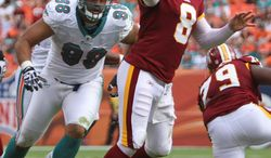 Rex Grossman at quarterback gives the Redskins the best chance to win, says coach Mike Shanahan. Grossman (above) will be taking snaps again this Sunday when the Dallas Cowboys visit FedEx Field. A week after making a team-record 59-yarder, Kicker Graham Gano (below) missed two field goals in this past Sunday's loss to the Dolphins. (Associated Press)