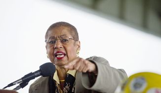 Congresswoman Eleanor Holmes Norton was among three D.C. officials Wednesday to turn down a budget-autonomy deal Tuesday offered by a Republican lawmaker. (Rod Lamkey Jr./The Washington Times)
