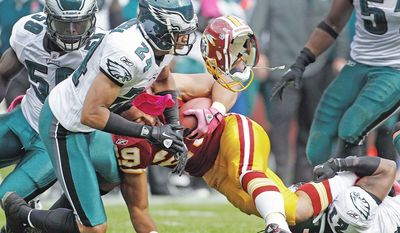 The Washington Redskins' running game hasn't been the same since Roy Helu (pictured) and Ryan Torain replaced the injured Tim Hightower, who remains the team's leading rusher, on Oct. 23.(Associated Press)