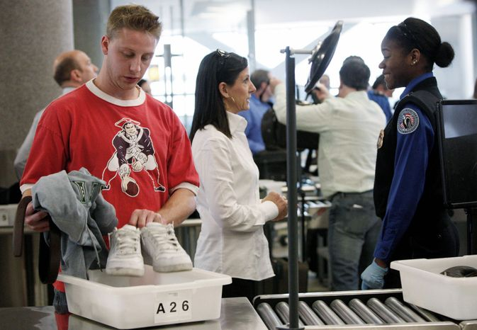 "The number of holiday air travelers also will rise slightly this year, the AAA predicts, but passengers will still be subject to security measures that make hitting the highway for Thanksgiving travel the ""preferred choice."" (Associated Press)"