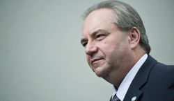 Republican Virginia Lt. Gov. Bill Bolling's profile will rise in the next General Assembly with his role as tiebreaker in the evenly divided state Senate. (Drew Angerer/The Washington Times)