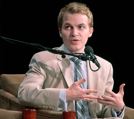 Ronan Farrow, the son of actress Mia Farrow and film director Woody Allen, has won a Rhodes scholarship. He is a special adviser to the Secretary of State for Global Youth Issues. (Associated Press)
