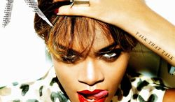 """In this CD cover image released by Island Def Jam Music Group, the latest release by Rihanna, """"Talk that Talk,"""" is shown. (AP Photo/Island Def Jam Music Group)"""