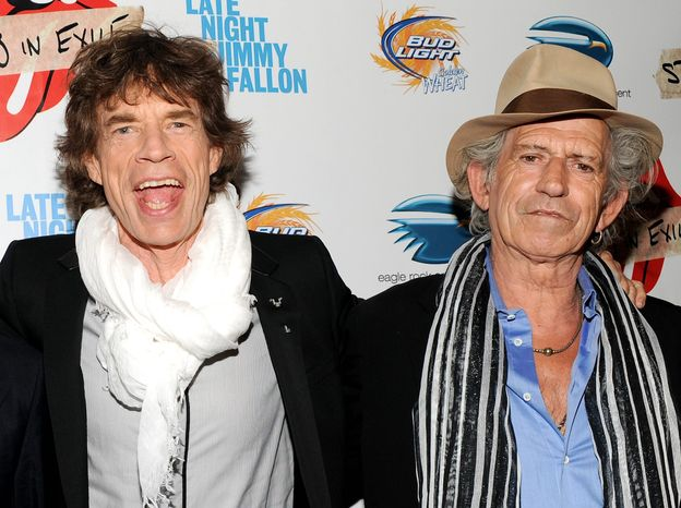 "FILE - In this May 11, 2010 file photo, musicians Mick Jagger, left, Keith Richards of The Rolling Stones attends a special screening of their new documentary ""Stones In Exile"" at The Museum of Modern Art in New York. A new deluxe edition of the Rolling Stones' 1978 ""Some Girls,"" will be released on Tuesday, Nov. 22. (AP Photo/Evan Agostini, File)"