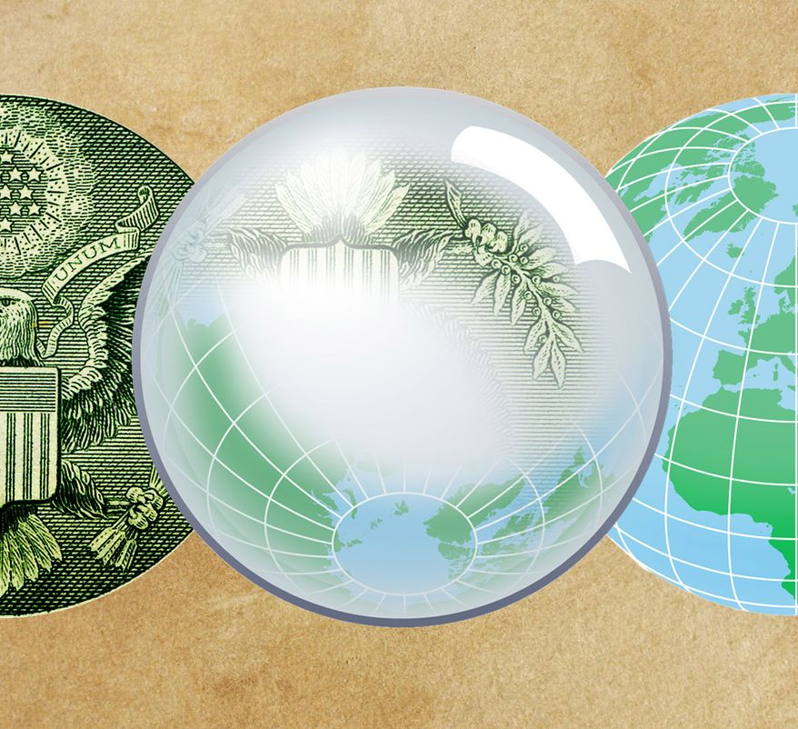 Illustration: Diplomatic investment by Greg Groesch for The Washington Times