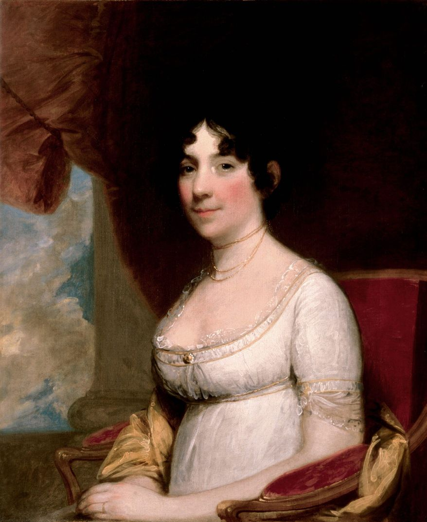 First Lady Dolley Madison (Library of Congress)