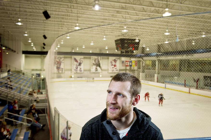 Brooks Laich won't lead the NHL in scoring, but the versatile center's value to the Washington Capitals can be measured in the six-year, $27 million contract he signed. (Rod Lamkey Jr./The Washington Times)