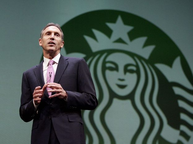 ** FILE ** Starbucks chief executive Howard Schultz. (Seattle Times via Associated Press)