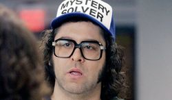 Judah Friedlander, who plays Frank Rossitano on NBC's '30 Rock,' delivers his deadpan standup routine Friday and Saturday at the DC Improv.