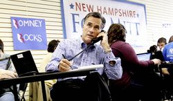 State lawmakers in New Hampshire are expected to take up a measure to repeal the state's same-sex marriage law in January, the same month the state holds a presidential primary. Republican candidates like Mitt Romney (shown), Rick Perry and Herman Cain have had to clarify their position on the hot-button social issue. (Associated Press)