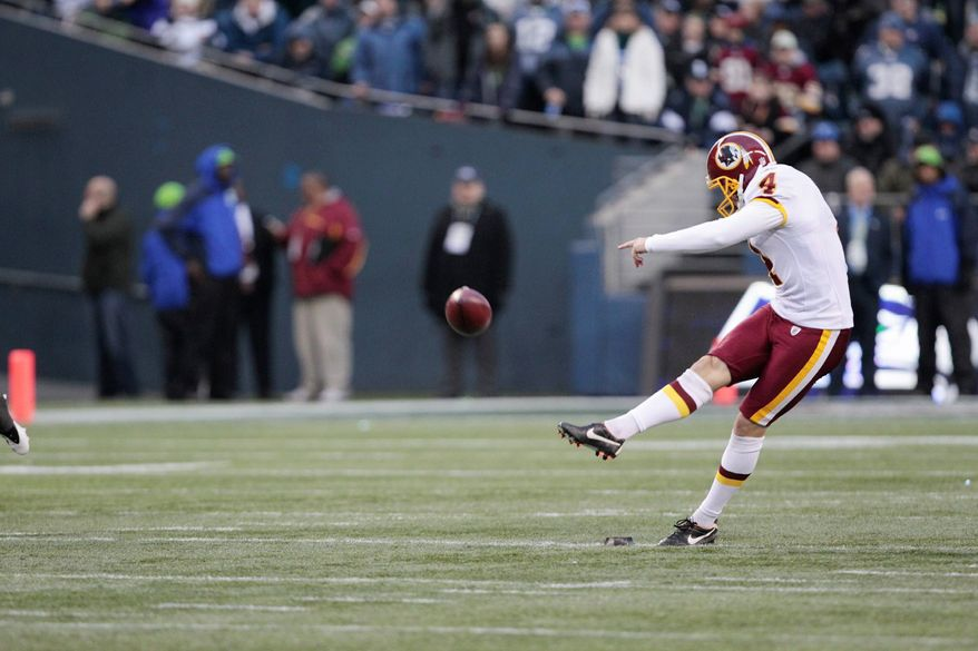"""""""We're going with Graham. It really had nothing to do with Graham, with the missed field goal or the missed extra point. That was totally on our protection scheme."""" - Redskins coach Mike Shanahan"""