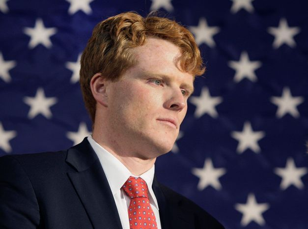 """Joseph P. Kennedy III told the Boston Globe he is """"seriously considering"""" a run next year for the Massachusetts seat being vacated by U.S. Rep. Barney Frank. (Associated Press)"""
