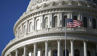 The Capitol building in Washington, D.C. (Associated Press) ** FILE **