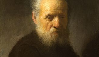"""In this Friday, Dec. 2, 2011, photo provided by the Rembrandt House Museum in Amsterdam, the 1630 painting """"Old Man with Beard"""" by Rembrandt is seen. Ernst van de Wetering of the Rembrandt Research Project says a painting long thought to have been made by one of his students is actually from the hand of the Dutch master himself. (AP Photo/ Rembrandt House Museum)"""