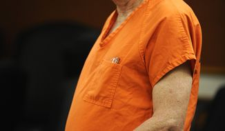 Former Arapahoe County Sheriff Patrick Sullivan appears in Arapahoe County Court, Wednesday, Nov. 30, 2011. Sullivan is suspected of offering methamphetamine in exchange for sex from a male acquaintance. (AP Photo/The Denver Post, RJ Sangosti)