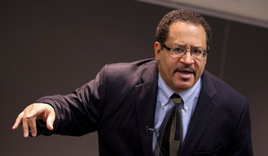 Author and activist Michael Eric Dyson (Associated Press) **FILE**