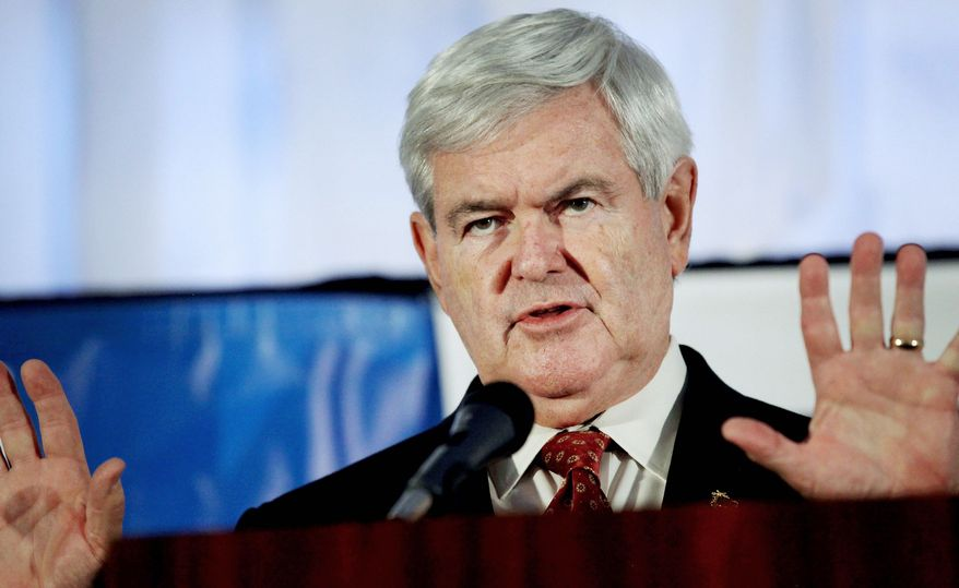 Former House Speaker Newt Gingrich has turned his front-runner position into fundraising success that would allow him to join other GOP presidential hopefuls now stepping up their presence with ads on TV and online. (Associated Press)