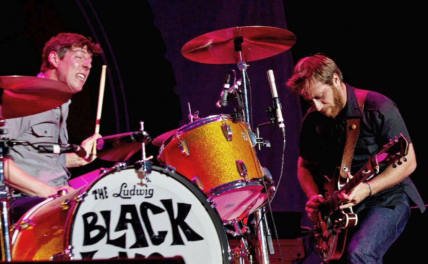 "The Black Keys sound as convincing as ever on their seventh album, ""El Camino."" (Associated Press)"
