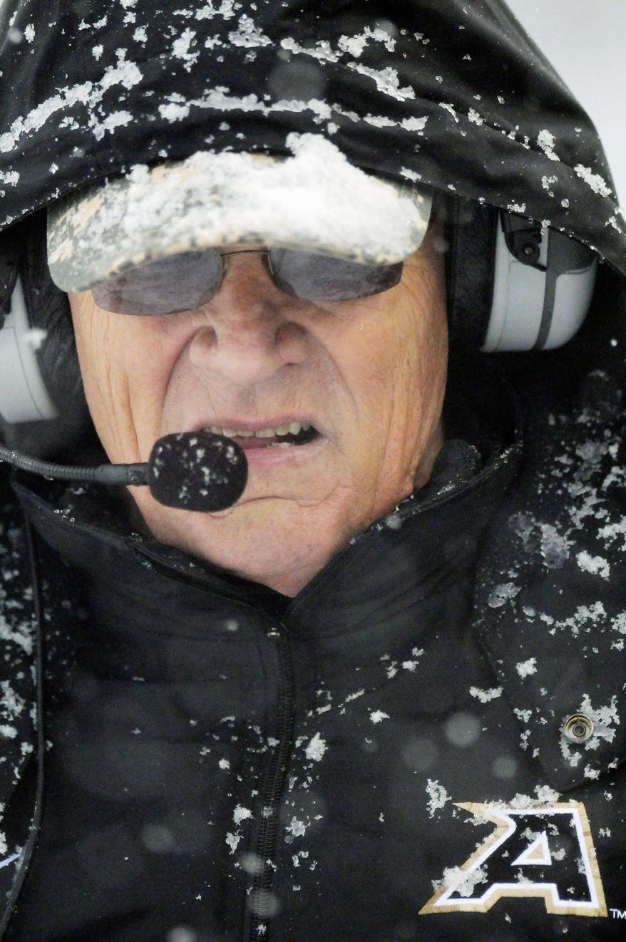 Army coach Rich Ellerson last year led the Black Knights to their first bowl victory since 1985. (Associated Press)