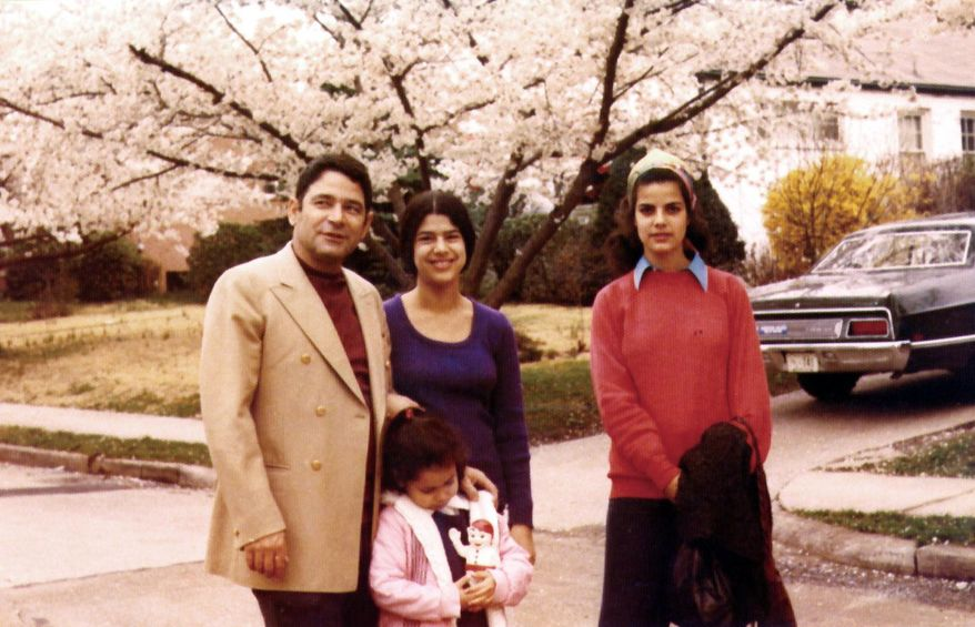 Joseph Alon lived with his wife and daughters in Chevy Chase in 1973 before he was killed by a gunman in front of his home. (Associated Press)