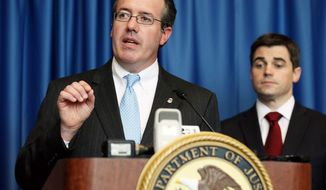 "U.S. Attorney Booth Goodwin said the $210 million settlement reached in a West Virginia mine explosion that killed 29 men ""requires a recognition that there was criminal conduct at play."" (Associated Press)"