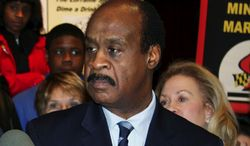 "**FILE** Montgomery County Executive Isiah ""Ike"" Leggett (AP Photo/Brian Witte)"