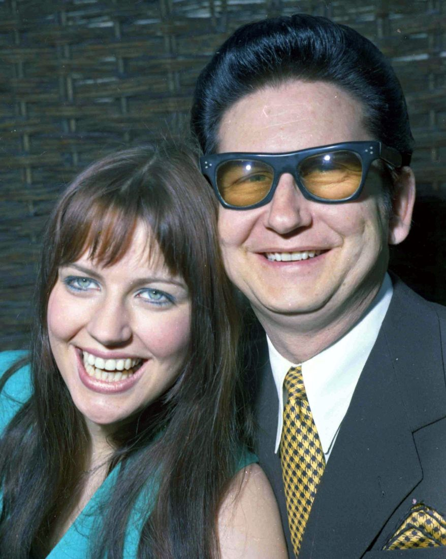 ASSOCIATED PRESS Barbara Orbison, then 18, with her husband, Roy Orbison, in 1969. Mrs. Orbison, 60, died from pancreatic cancer on Tuesday, the 23rd anniversary of her husband's death. She devoted herself since the 1980s to maintaining his legacy.
