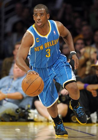 The Charlotte Hornets and Los Angeles Clippers have agreed on a Chris Paul trade. The Hornets will acquire Ben Gordon, Al-Farouq Aminu, Chris Kaman and a first-round pick, while the Clippers will receive Paul and two second rounders. (AP Photo/Mark J. Terrill, File)