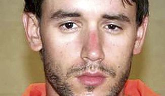 ** FILE ** This July 23, 2007, file photo provided by the Connecticut State Police shows Joshua Komisarjevsky, charged in a deadly 2007 home invasion in Cheshire, Conn. A jury has condemned Komisarjevsky to death for killing a woman and her two daughters in the attack. (AP Photo/Connecticut State Police, File)