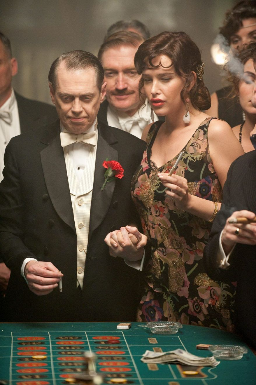 "The HBO drama ""Boardwalk Empire,"" which stars an ensemble cast featuring Steve Buscemi and Paz de la Huerta, is one of President Obama's favorite TV shows. First lady Michelle Obama and the couple's two daughters, meanwhile, enjoy ABC's ""Modern Family."" (HBO via Associated Press)"