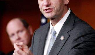 Wisconsin Rep. Paul Ryan, the top Republican budget writer in the House, has a new plan for Medicare - devised with Democratic Sen. Ron Wyden of Oregon - that would set up a regulated competition with private insurance. (Associated Press)