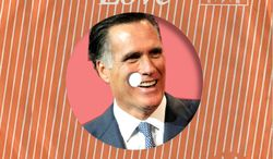Illustration: Mitt Romney