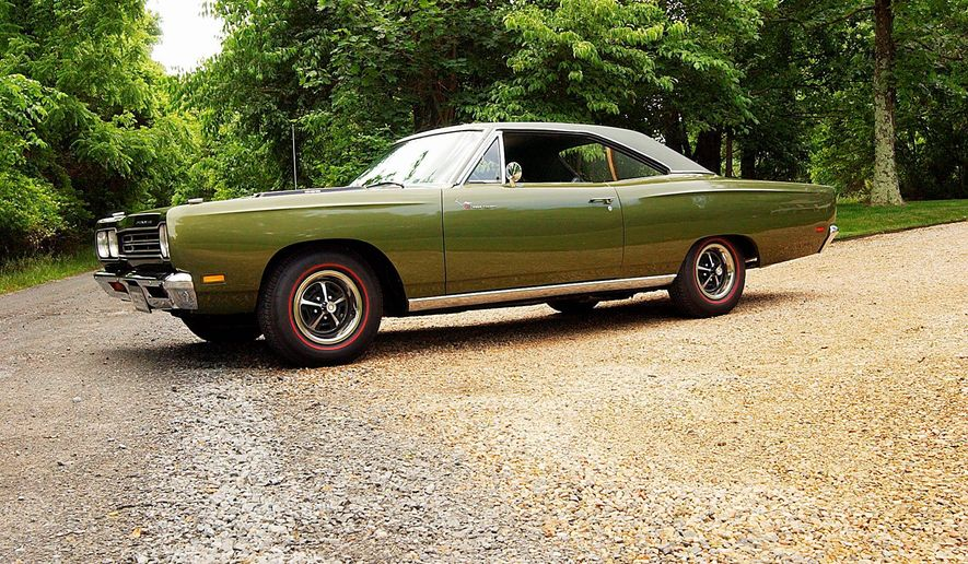 The 1969 Plymouth Road Runner was not only striking because of its power but also its lack of chrome.