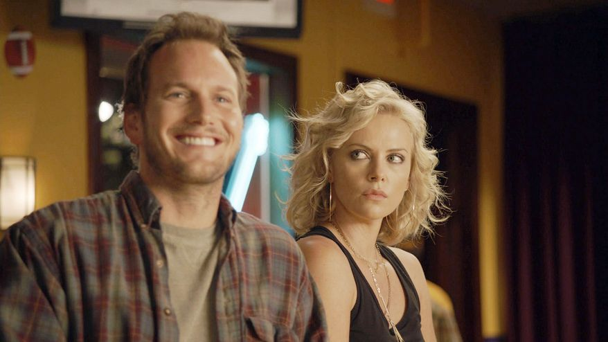 "Patrick Wilson plays the love interest of Charlize Theron's character in ""Young Adult,"" which overturns screenplay conventions. (Paramount Pictures via Associated Press)"