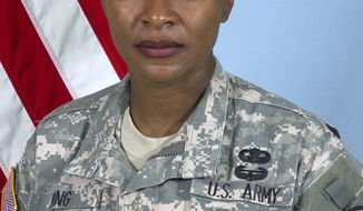 Command Sgt. Maj. Teresa King (AP Photo/U.S. Army)