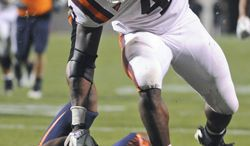Virginia Tech running back David Wilson has rushed for 1,627 yards and nine touchdowns this season. The running back has a bright future, but will it involve the NFL next season? (AP Photo Don Petersen)