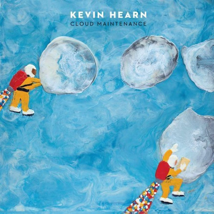 "Album cover for Kevin Hearn ""Cloud Maintenance""."