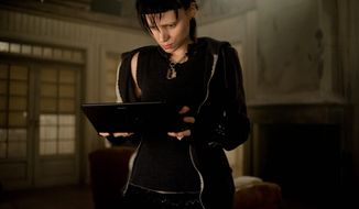 "In this film image released by Sony Pictures, Rooney Mara is shown in a scene from ""The Girl With The Dragon Tattoo."" (AP Photo/Sony, Columbia Pictures, Merrick Morton)"