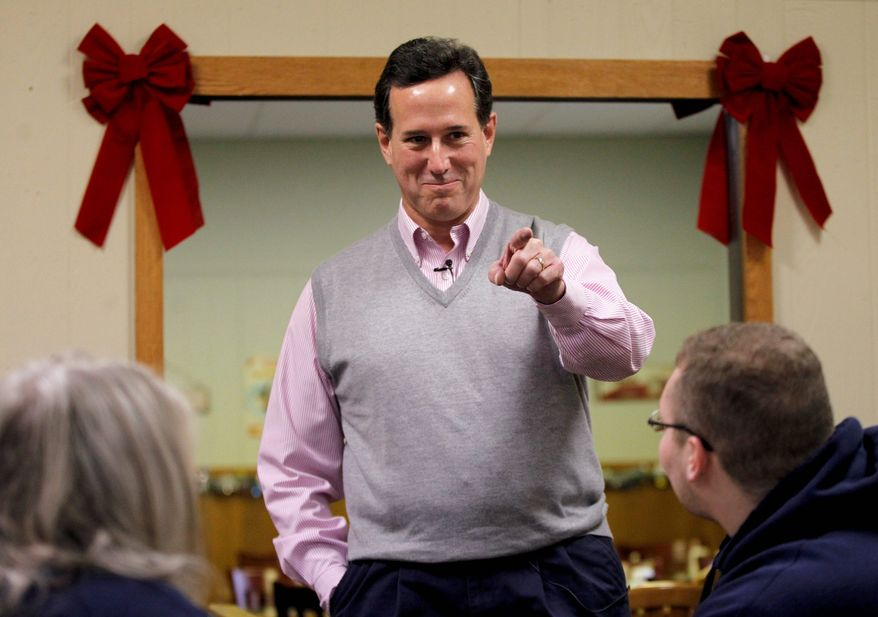 GOP presidential hopeful Rick Santorum has seen his polling numbers rise in the weeks leading up to the Iowa caucuses.