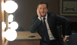 "** FILE ** Piers Morgan, host of CNN's ""Piers Morgan Tonight,"" poses in Pasadena, Calif., on Thursday, Jan. 6, 2011. (AP Photo/Chris Pizzello, File)"