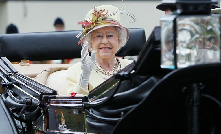 ENERGY SAVER: Britain's Queen Elizabeth II reportedly turns off lights in unoccupied areas of the vast Buckingham Palace. Posted notices urge staff to do the same. There are no plans to rent out the palace, however.
