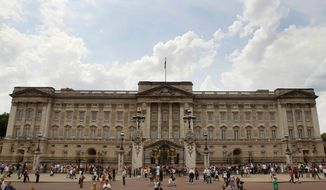 Buckingham Palace is the London home of Queen Elizabeth II. (AP Photo/Kirsty Wigglesworth)