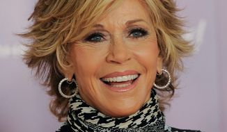 Jane Fonda (Associated Press)