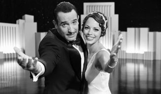 "Jean Dujardin (left) and Berenice Bejo star in ""The Artist."" (Weinstein Co. via Associated Press)"