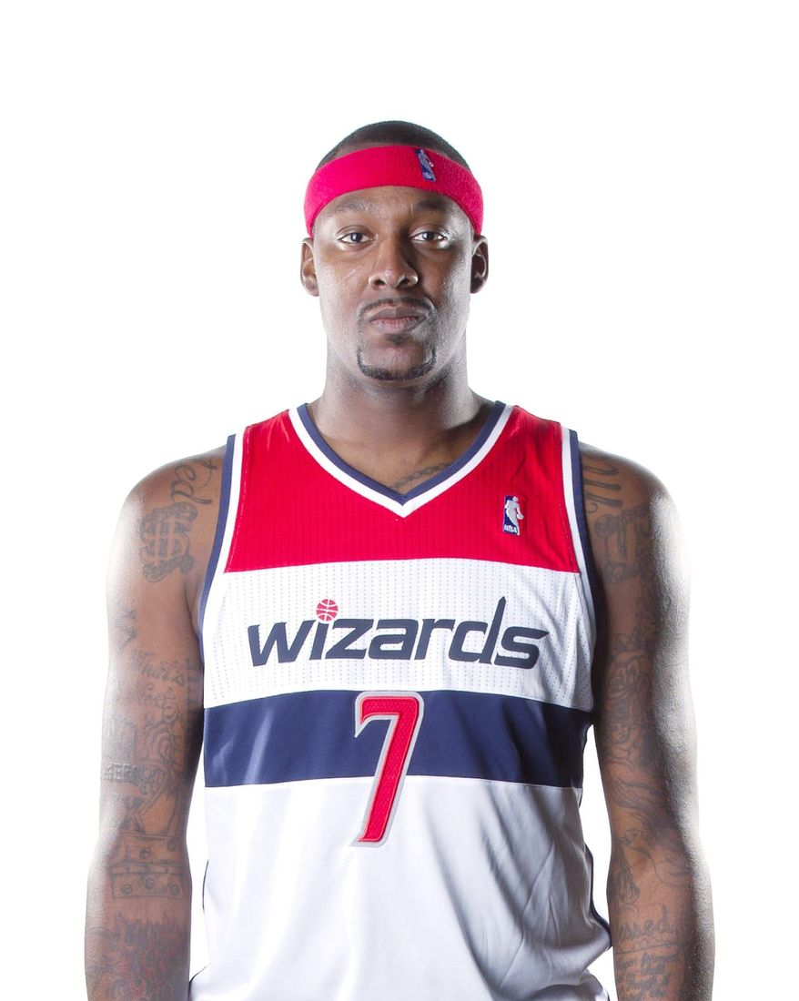 Washington Wizards forward Andray Blatche averaged 16.8 points, 8.2 rebounds and 0.8 blocks per game last season. (Andrew Harnik/The Washington Times)