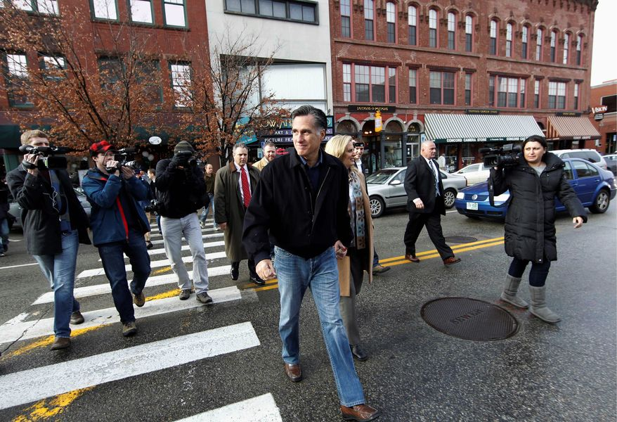 Republican presidential hopeful Mitt Romney is trying to convince voters he is the candidate who simply understands money and knows how to create jobs. Working against Mr. Romney is a long, sometimes puzzling record of changing positions that makes it hard to pin down his stances. (Associated Press)