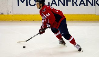 **FILE** Washington Capitals defenseman John Carlson (The Washington Times)